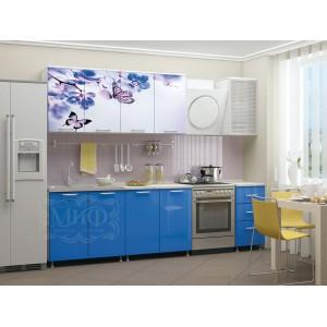 """Кухня """"Фотопечать цветы"""""""