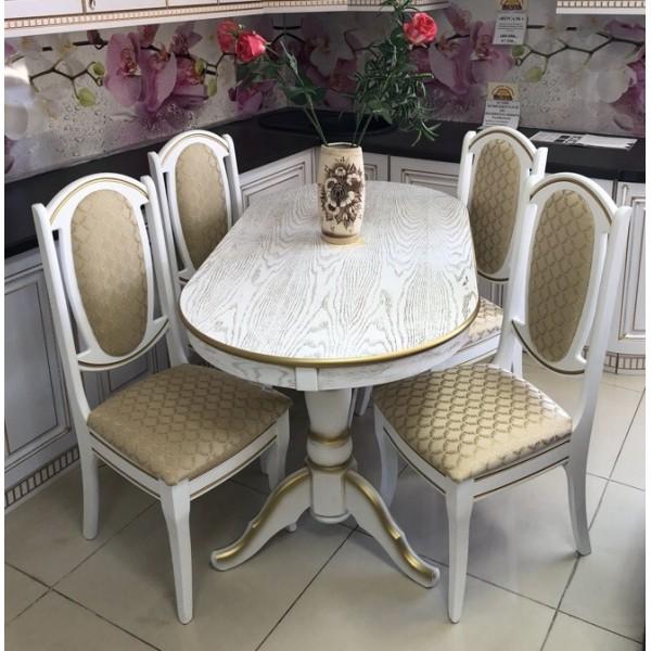 """стол """"Презент патина золото"""""""